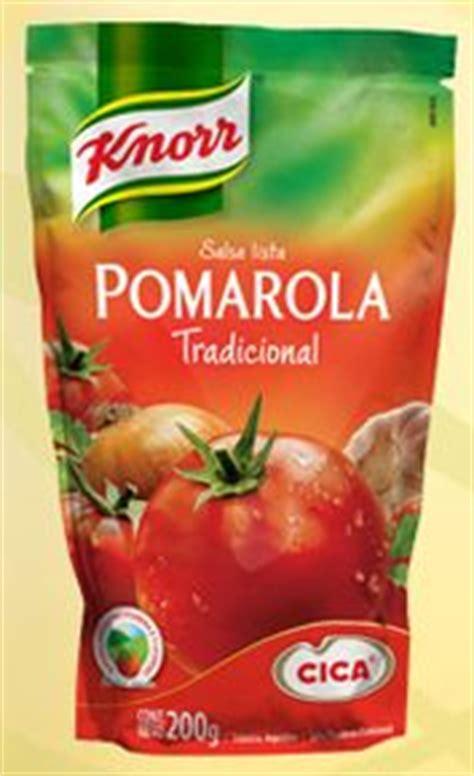 vademecum de las salsas 8448023110 vademecum nutrinfo informaci 243 n nutricional de salsa lista knorr cica pomarola tradicional