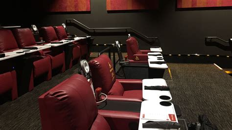 movie theaters with recliners chicago block 37 s new dine in movie theater cheesesteak truck