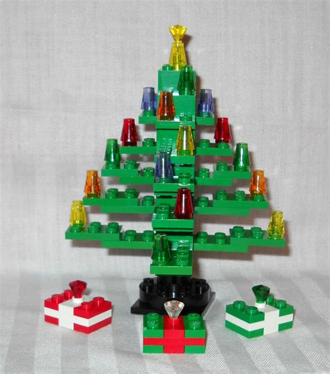 new 5 quot green custom lego christmas tree gifts presents