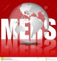mers virus illustration royalty free stock image image 31529486