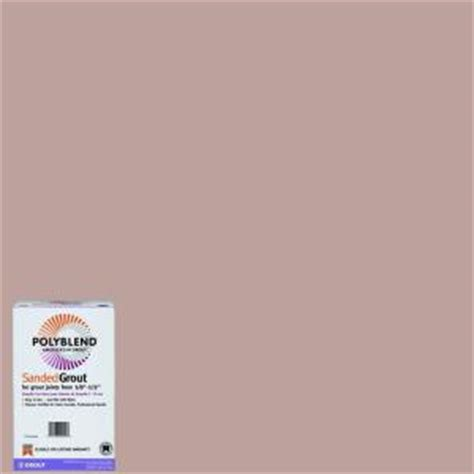 custom building products polyblend 390 beige 7 lb sanded grout pbg3907 the home depot