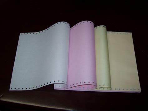 Kertas Ncr 3 Ply printing a sipahutar 1408 about continuous form