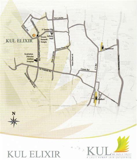 elixir map kul elixir andheri west mumbai price location