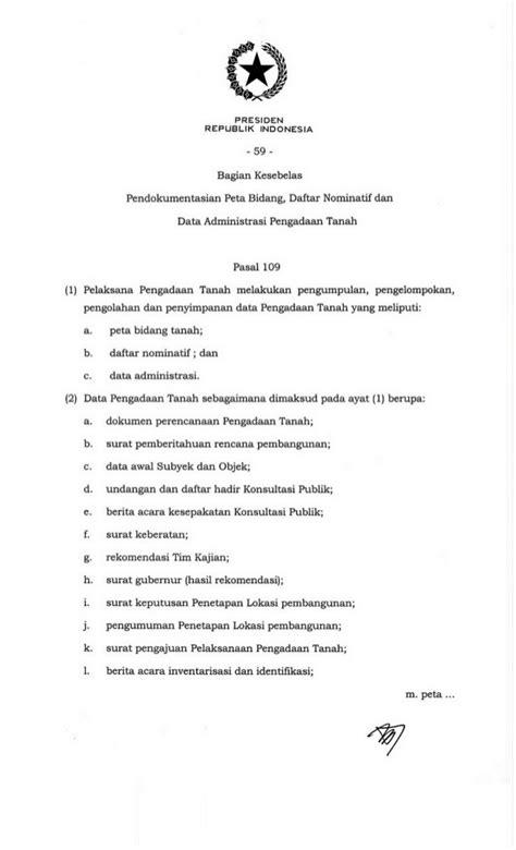 Buku Implementasi Prinsip Kepentingan Umum Dalam Pengadaan Tanah Untu perpres no 71 th 2012 tt penyelenggaraan pengadaan tanah untuk kepe