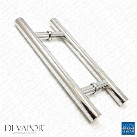 Handles For Shower Doors 180mm Stainless Steel Shower Door Handles 18cm 7 Inches To Brushed Steel Effect