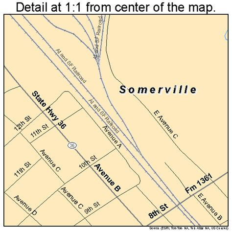 somerville texas map somerville texas map 4868720