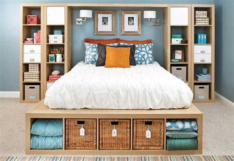 Small Bedroom Storage Ideas Storage Ideas For Small Bedrooms Design And Decorating
