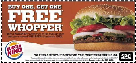 printable coupons for fast food restaurants 2014 burger king coupons printable coupons online
