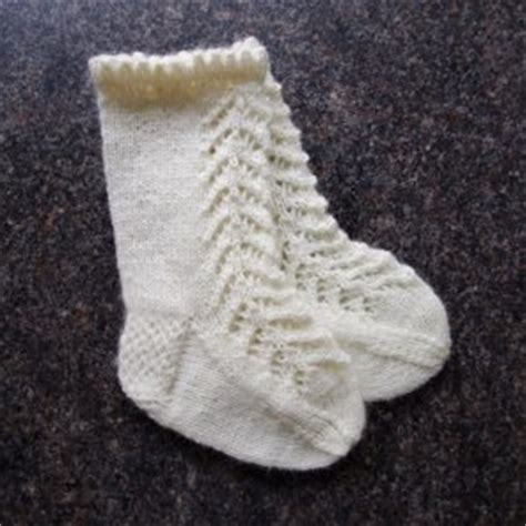 baby knitted socks knitting pattern for lacy knee high baby socks pattern