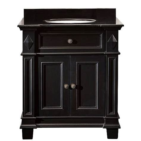 Black Antique Vanity by Essex Black Antique Bathroom Vanity 4n331