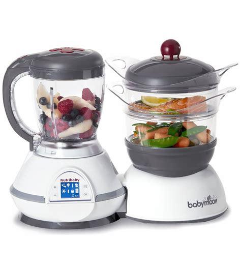 Blender Babymoov babymoov nutribaby food processor steamer cherry