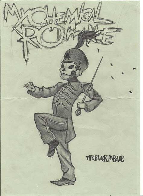 sketch album welcome to the black parade by killjoy blind on deviantart