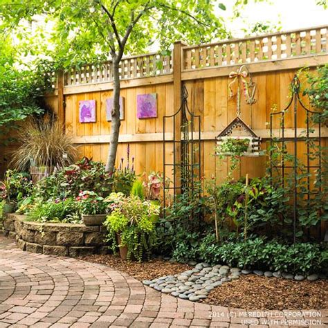 backyard landscaping ideas for privacy better homes and
