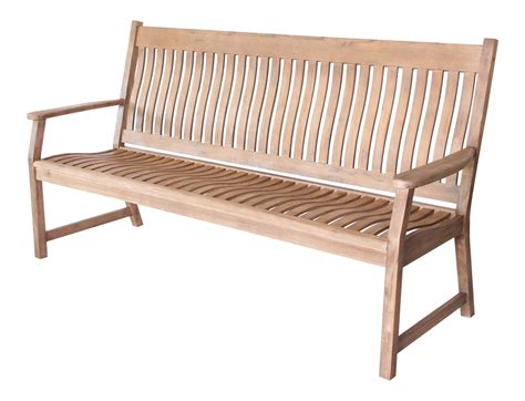 curved back bench lg outdoor han34nat