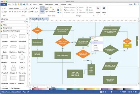 best diagramming software 17 top flowchart and diagramming software for mac