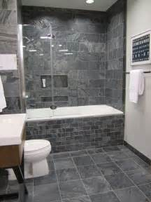 Tiling Bathroom Walls Ideas by 40 Gray Bathroom Wall Tile Ideas And Pictures