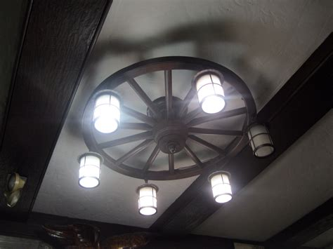Wagon Wheel Light Fixture Wagon Wheel Light Fixture Flickr Photo