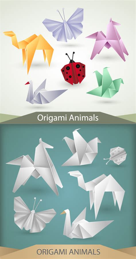 Creative Origami - creative origami graphics other vector