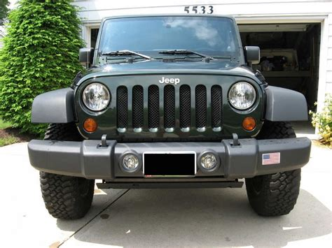 Jeep Grill Mesh Jk Grill Mod Mesh Grill Modification For Jk Jeep Wrangler