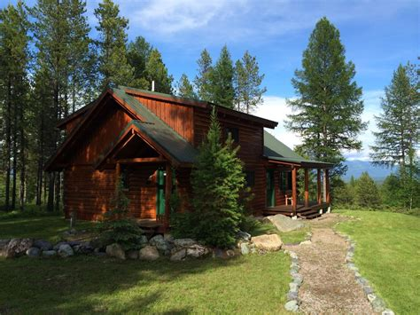 Stay In A Cabin In The Woods Log Cabin In The Woods Where The Animals Vrbo