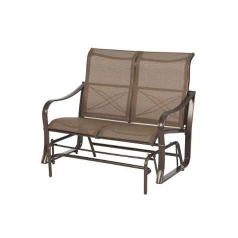 home depot paint glider martha stewart living grand bank patio glider d4067