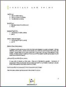 6 sample proposal format procedure template sample