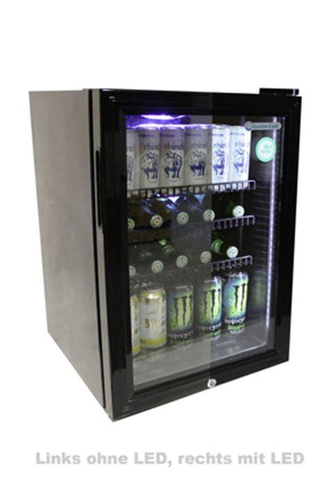 Wine Bar Mit Kühlschrank by K 252 Hlschrank Mit Glast 252 R Silber Led Innenbeleuchtung