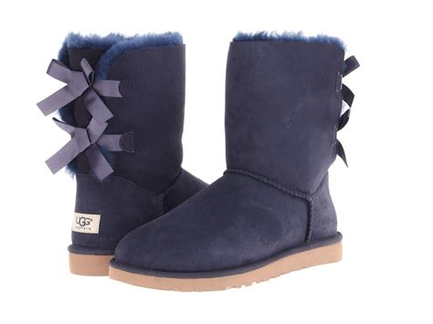 new boot ugg australia bailey bow navy blue 1002954