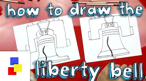how to draw liberty bell how to draw the liberty bell school art pinterest