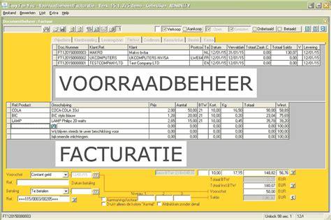 voorraadbeheer software met inventaris en facturatie