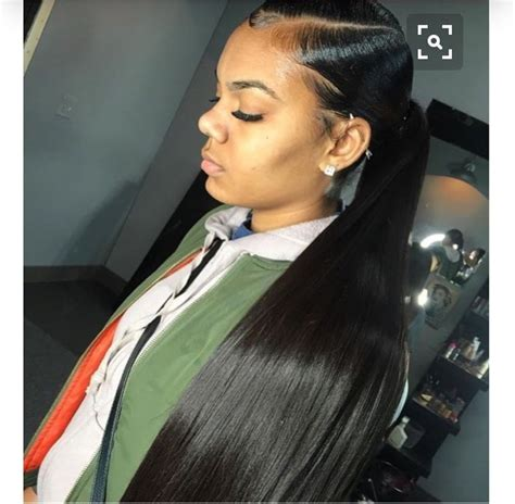 quick weave on edges pin by kya s on hair slay pinterest ponytail hair