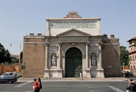 piazzale porta pia luoghi storici risorgimento nel territorio laziale