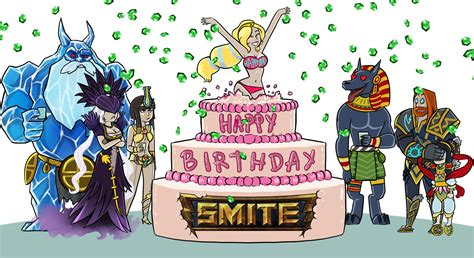 happy birthday happy birthday smite smite