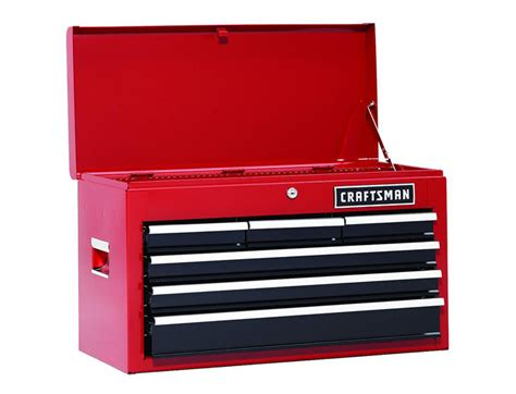 craftsman 26 inch 6 drawer tool chest 75 off craftsman 26 quot 6 drawer heavy duty top tool chest