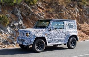 Suzuki Jimny Replacement Suzuki Jimny Replacement Spotted On Roads For The