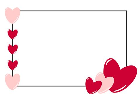 Template Valentine Day Card free clipart n images free card template