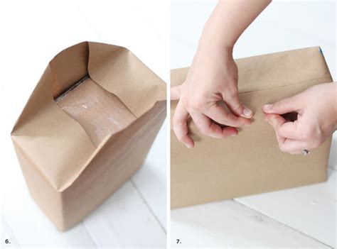 Steps In Paper Bag - how to make professional looking gift bags a beautiful mess