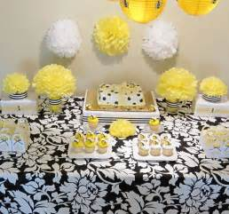 Bumble Bee Themed Baby Shower - simplyiced party details bumble bee baby shower