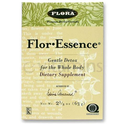 Flora Flor Essence Gentle Detox For The Whole by Evitamins Flora Flor Essence Detox Formula