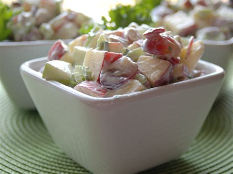 Potluck Invitation The Waldorf Salad A Dish To Pass I M From Baklava And Ouzo A Love Story
