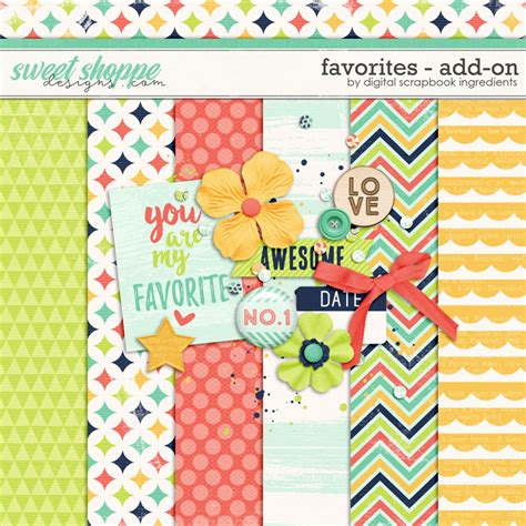 scrapbook addon tutorial quality digiscrap freebies favorites mini kit freebie
