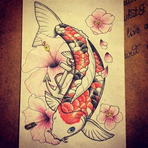 just another drawing blog finished colouring the koi