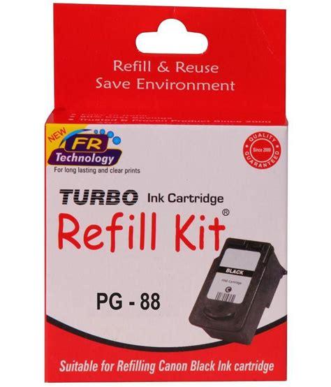 Canon Black Ink Cartridges Pg 88 turbo refill kit for canon pg 88 black ink cartridge buy turbo refill kit for canon pg 88