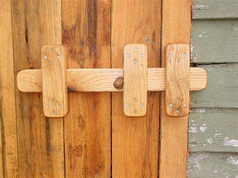 build  double door wood gate woodworking