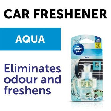 aqua refill ambi pur car air freshener aqua car vent perfume refill