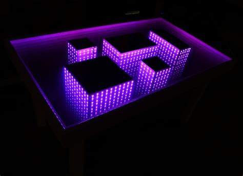25  best ideas about Infinity Mirror Table on Pinterest