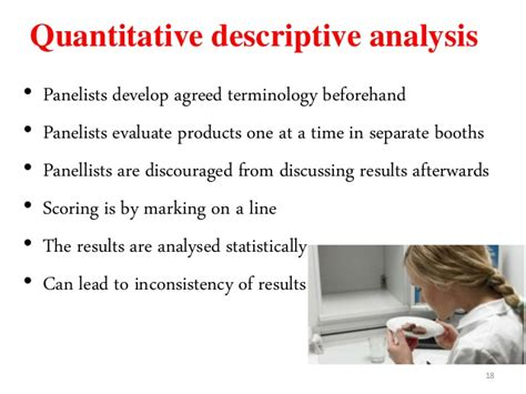 sensory evaluation of food statistical methods and procedures 16 food science and technology books descriptive analysis for sensory evaluation