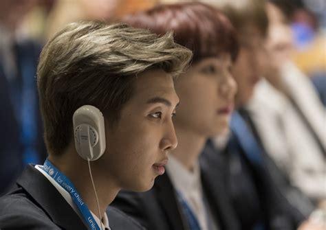 kim namjoon un speech bts motivational un speech transcends race and gender