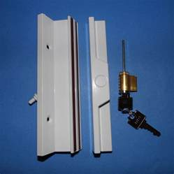 white patio door keyed handle kit 900 21409 window