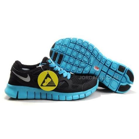 nike running shoes nike free run 2 womens running shoes black blue on sale